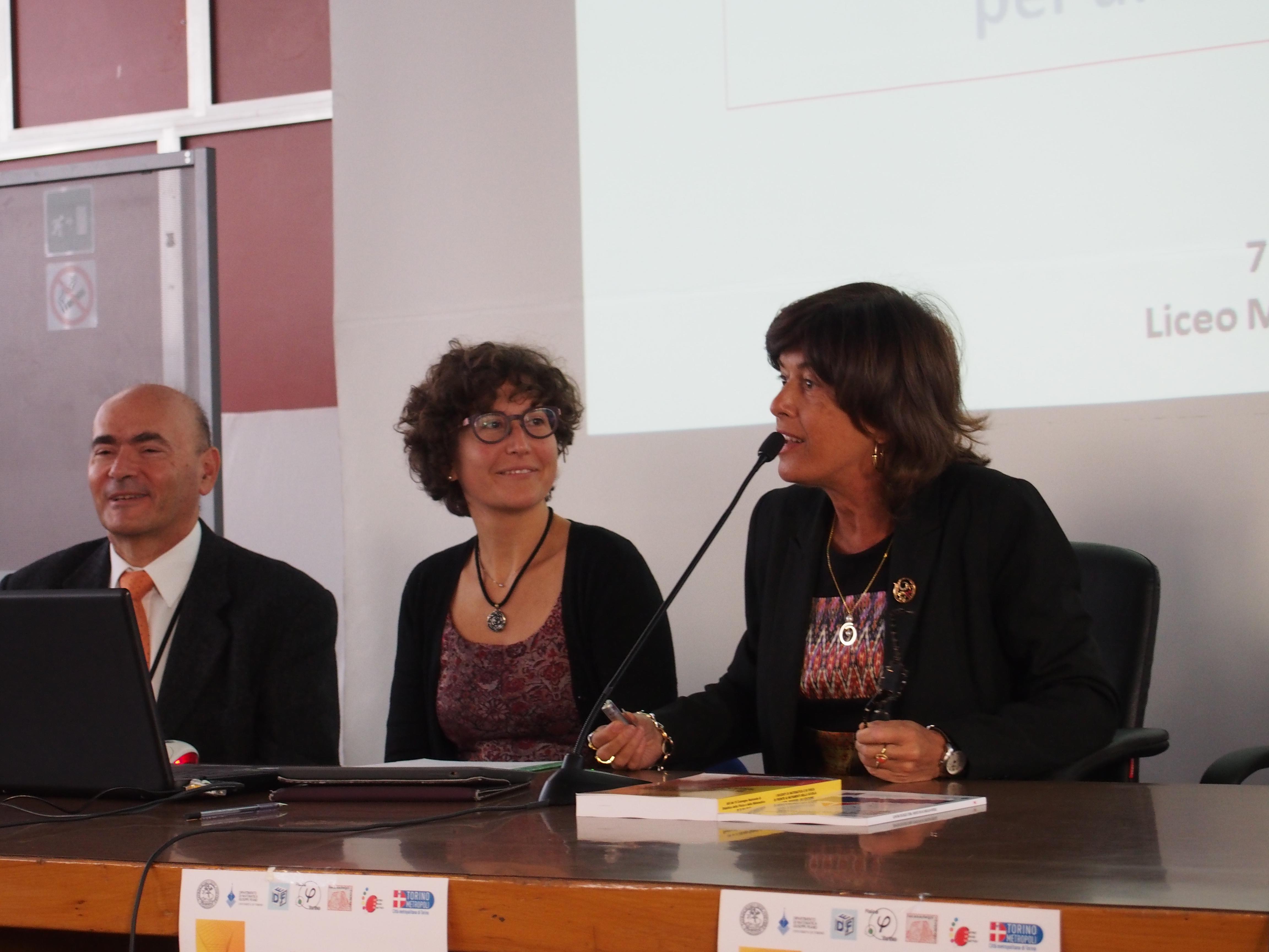 Cristina Sabena e Ornella Robutti
